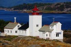Faro de Langesund, Noruega foto de archivo libre de regalías