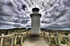 Faro de Liptrap del cabo Imágenes de archivo libres de regalías
