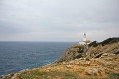 Faro de Majorca ancho Fotos de archivo