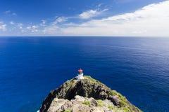 Faro de Makapuu, Oahu fotos de archivo libres de regalías