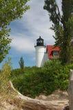 Faro de Michigan Fotografía de archivo