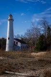 Faro de Michigan Foto de archivo