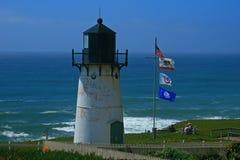 Faro de Montara del punto Fotos de archivo libres de regalías