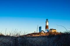 Faro de Montauk Imagen de archivo libre de regalías