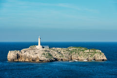 Faro de Mouro in Santander Royalty Free Stock Photography