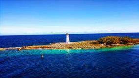 Faro de Nassau Imágenes de archivo libres de regalías