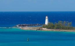 Faro de Nassau Foto de archivo