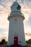 Faro de Naturaliste del cabo, Australia occidental del sur Foto de archivo
