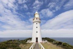 Faro de Otway del cabo, gran camino del océano, Victoria, Australia Fotos de archivo