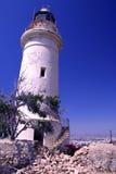 Faro de Paphos Fotos de archivo libres de regalías