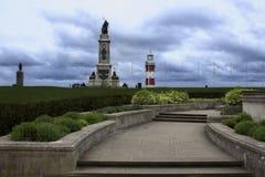Faro de Plymouth, torre de Smeatons foto de archivo libre de regalías