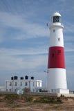Faro de Portland Bill en Dorset Foto de archivo libre de regalías