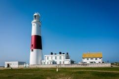Faro de Portland Bill en Dorset, Reino Unido Imagenes de archivo