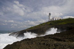 Faro de Puerto Rico Fotos de archivo libres de regalías