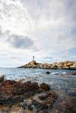Faro de Punta de Fora, Ibiza Imagen de archivo libre de regalías