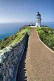 Faro de Reinga del cabo - Nueva Zelandia Foto de archivo