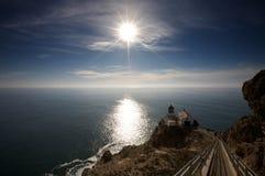 Faro de Reyes de la punta Fotografía de archivo