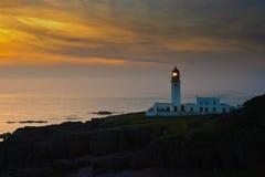 Faro de Rua Reidh, Escocia Fotos de archivo libres de regalías