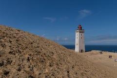 Faro de Rubjerg Knude, Dinamarca imagen de archivo