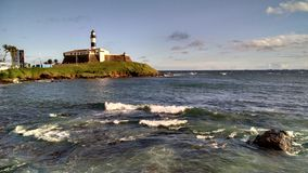 Faro de Salvador Imagen de archivo libre de regalías