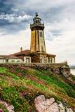 Faro de San Juan de Nieva Fotografía de archivo