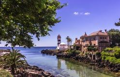 Faro de Santa Marta fotografía de archivo libre de regalías