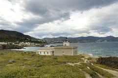 Faro de Sarnella Imagen de archivo
