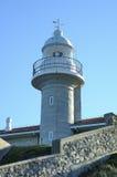 Faro de Suances Imagen de archivo libre de regalías