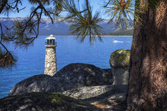 Faro de Tahoe Imagenes de archivo