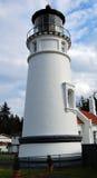 Faro de Umpqua Imágenes de archivo libres de regalías