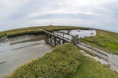 Faro de Westerhever Foto de archivo libre de regalías