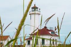Faro de Wilson de la punta Imagen de archivo