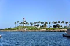 Faro del arco iris, Long Beach, California Imágenes de archivo libres de regalías