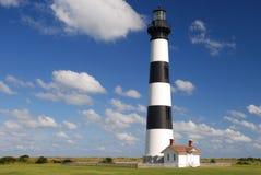Faro del Bodie, North Carolina fotografia stock