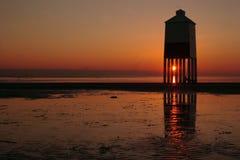 Faro del Burnham-su-Mare Fotografia Stock