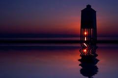 Faro del Burnham-su-Mare Fotografie Stock