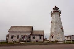 Faro del este de la punta Imagen de archivo libre de regalías