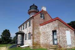 Faro del este de la punta, New Jersey Imagenes de archivo