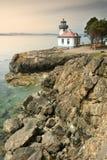Faro del forno a calce sull'isola di San Juan Fotografia Stock