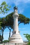 Faro del Gianocolo, Roma, Itália fotografia de stock royalty free