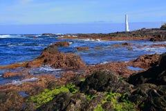 Faro del hidalgo di Punta Immagini Stock Libere da Diritti