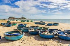 Faro del KE GA, il più vecchio faro del Vietnam Immagine Stock