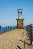 Faro del lago Michigan Imagen de archivo libre de regalías