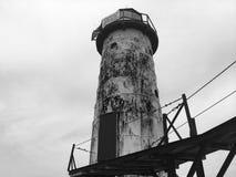 Faro del lago Michigan Foto de archivo