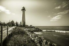 Faro del lago Superior Foto de archivo libre de regalías