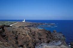Faro del Linosa Fotografia Stock Libera da Diritti