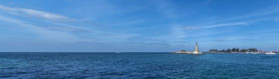 Faro del mare Fotografia Stock