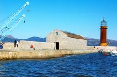 Faro del museo Fotos de archivo