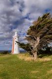 Faro del peñasco de Mersey Fotografía de archivo libre de regalías