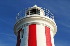 Faro del peñasco de Mersey, Tasmania, Australia Imagenes de archivo